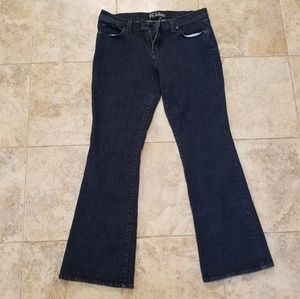 New York & Co. Great Cond. Flare Leg Blue Jeans